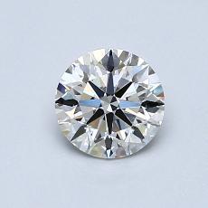 0.72 Carat 圓形 Diamond 理想 G VVS2