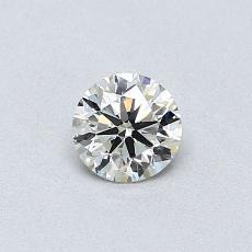 Pierre recommandée n°4: Diamant taille ronde 0,36 carat