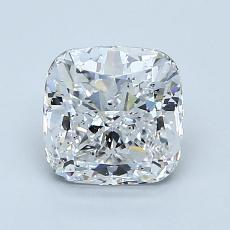 Pierre recommandée n°2: Diamant taille coussin 1,50 carats