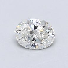 推荐宝石 2:0.59克拉椭圆形切割钻石