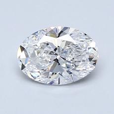 1,01-Carat Oval Diamond Very Good E VS2