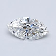 Recommended Stone #3: 0.60-Carat Marquise Cut Diamond