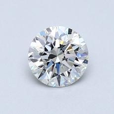 0.70 Carat 圆形 Diamond 理想 I VS2