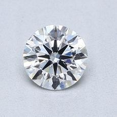 0.71 Carat 圓形 Diamond 理想 E VS2