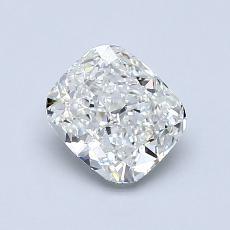 1.00 Carat 垫形 Diamond 非常好 H VVS1