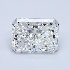 Recommended Stone #4: 1.25-Carat Radiant Cut Diamond