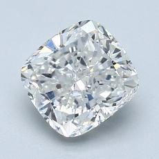 2,01 Carat Coussin Diamond Bonne D VVS1