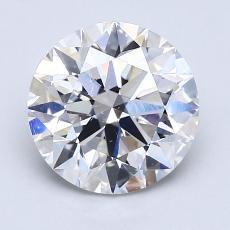 推薦鑽石 #4: 2.02  克拉圓形 Cut
