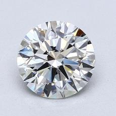 1.50-Carat Round Diamond Ideal I VVS2