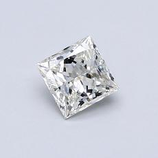 Recommended Stone #1: 0.50-Carat Princess Cut
