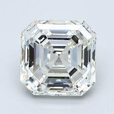 1.70-Carat Asscher Diamond Very Good I VS2