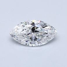 推薦鑽石 #2: 0.50  克拉欖尖形切割鑽石