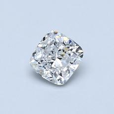 Recommended Stone #1: 0.50-Carat Cushion Cut Diamond