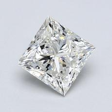 推荐宝石 1:0.90 克拉公主方型切割