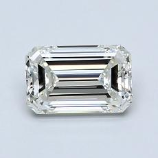 Recommended Stone #2: 1.00-Carat Emerald Cut Diamond
