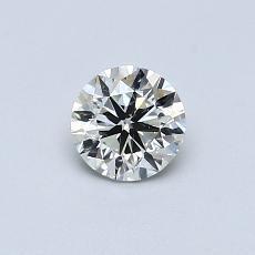 推薦鑽石 #3: 0.45  克拉圓形 Cut