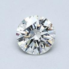 0.70 Carat 圆形 Diamond 理想 I SI1