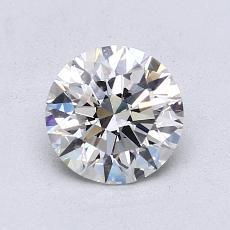 1,09 Carat Rond Diamond Idéale G VS1