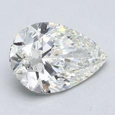 Recommended Stone #3: 2.00-Carat Pear Cut Diamond