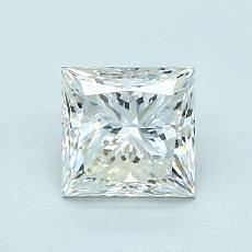 オススメの石No.1:1.01カラットプリンセスカットダイヤモンド