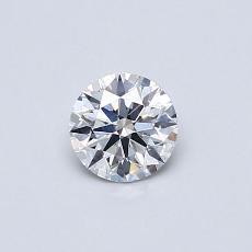 推荐宝石 1:0.40 克拉圆形切割