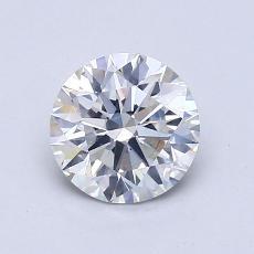 1.03 Carat Redondo Diamond Ideal G SI1