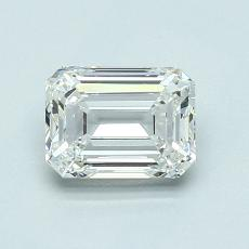 Recommended Stone #1: 0,94-Carat Emerald Cut Diamond