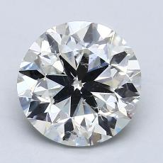 2.03-Carat Round Diamond Very Good G SI2