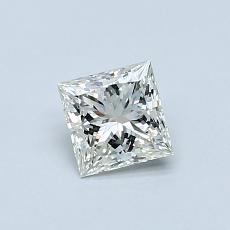 Recommended Stone #3: 0,51-Carat Princess Cut Diamond