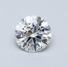 0.76 Carat 圆形 Diamond 理想 H SI1