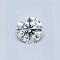 0.40-Carat Round Diamond Ideal F SI1
