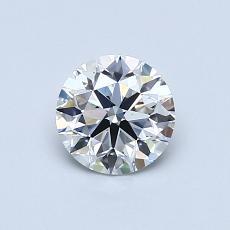 0.70 Carat 圆形 Diamond 理想 G VS1