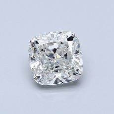 0.70-Carat Cushion Diamond Very Good H VVS2