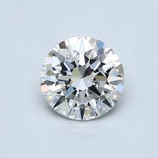 0.72-Carat Round Diamond Ideal E VS1
