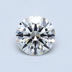 0.75 Carat 圓形 Diamond 理想 J VVS1