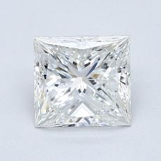 Recommended Stone #2: 0.90-Carat Princess Cut Diamond
