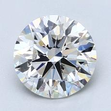 Recommended Stone #2: 2.08-Carat Round Cut