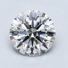 1.53 Carat 圆形 Diamond 理想 F IF