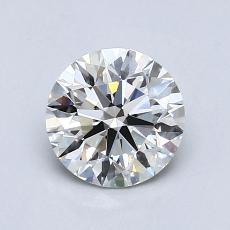 0.75 Carat 圆形 Diamond 理想 H VS1