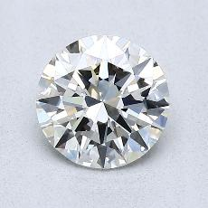 1.00-Carat Round Diamond Ideal H VS2