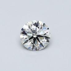 0.41 Carat 圓形 Diamond 理想 G VS2