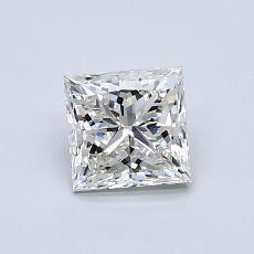推薦鑽石 #4: 0.76  克拉公主方形鑽石