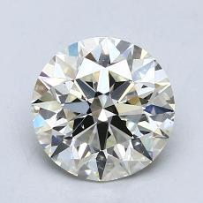 1.33 Carat 圆形 Diamond 理想 K SI1