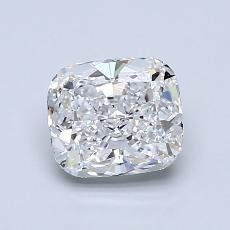 1.03-Carat Cushion Diamond Very Good D IF