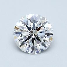 Pierre recommandée n°1: Diamant taille ronde 0,80 carat