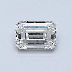 Recommended Stone #4: 0.81-Carat Emerald Cut Diamond