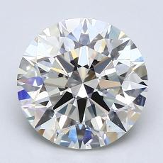 2.00 Carat Redondo Diamond Ideal I VS2
