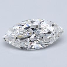1,00-Carat Marquise Diamond Very Good G SI2