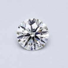 推荐宝石 4:0.50克拉圆形切割钻石