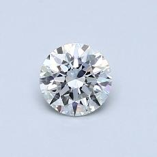 0.50-Carat Round Diamond Ideal G VVS1